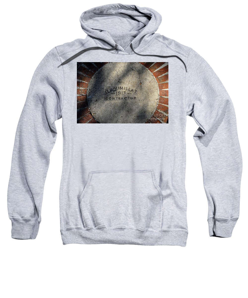 Contractor Sweatshirt featuring the photograph Tampa Bay Hotel 1913 by David Lee Thompson