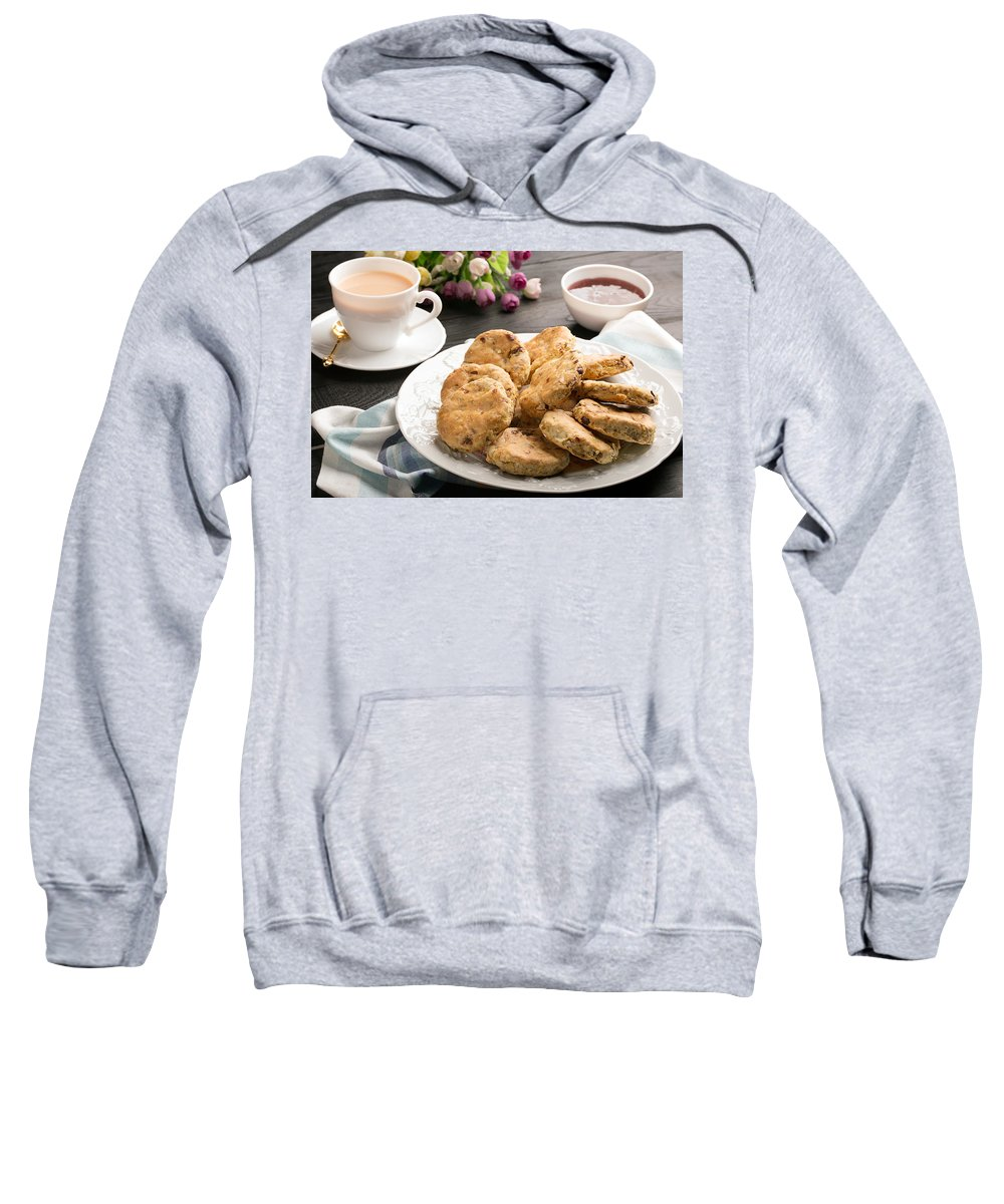 Biscuit Sweatshirt featuring the photograph Taste Of England by Vadim Goodwill