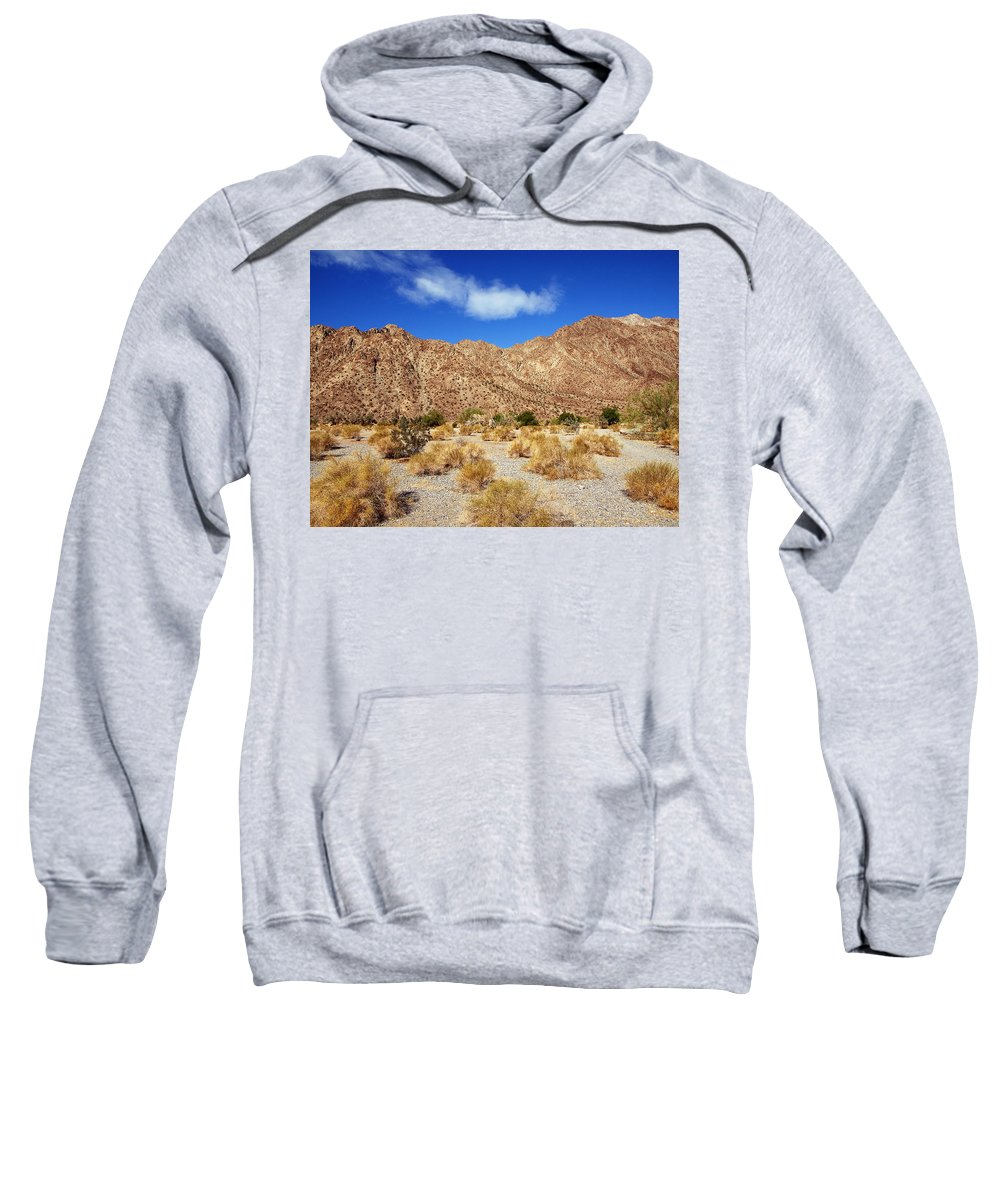 Desert Sweatshirt featuring the photograph Teaser by Dominic Piperata
