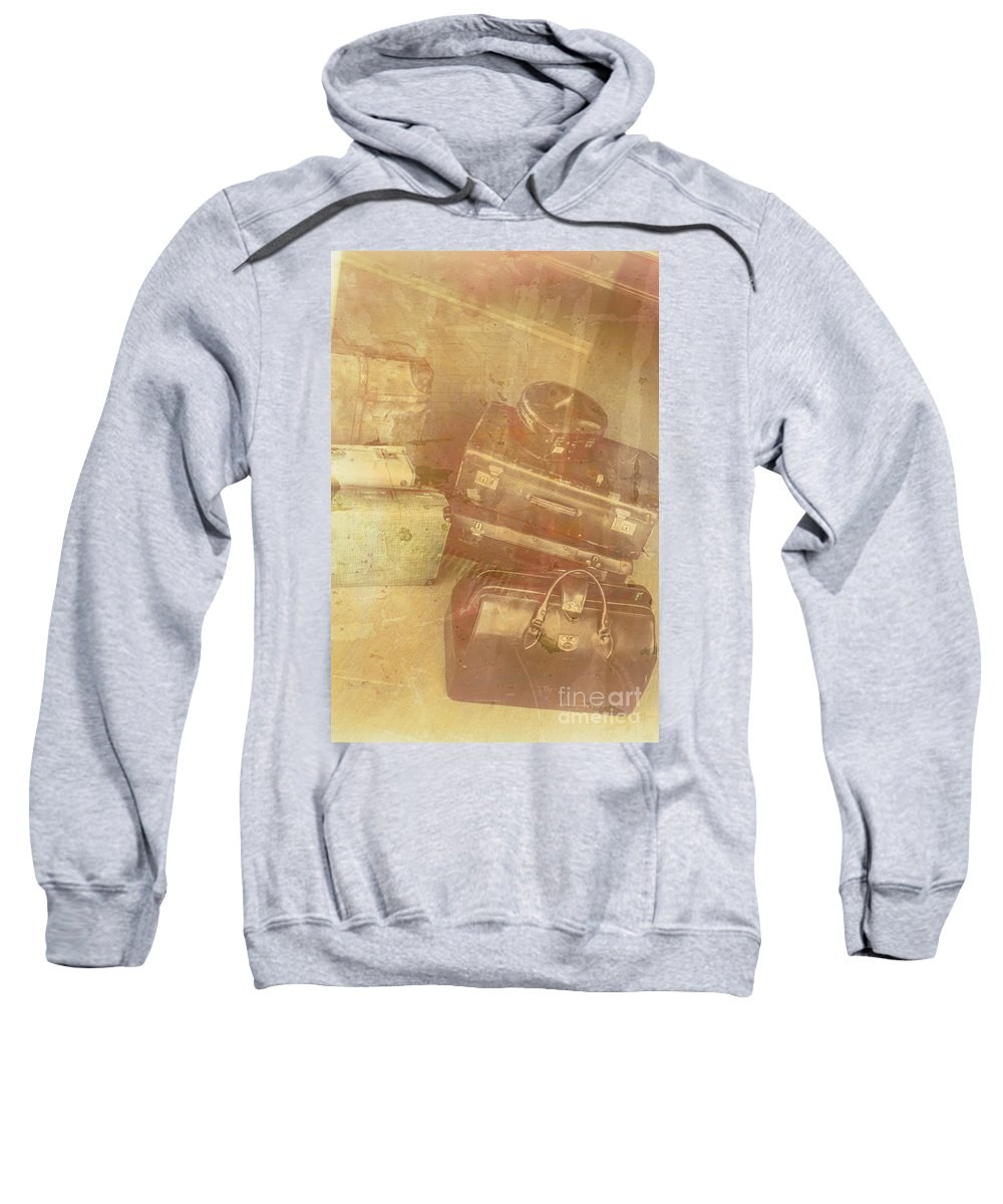 Old Sweatshirt featuring the photograph Terminal Goodbye by Jorgo Photography - Wall Art Gallery