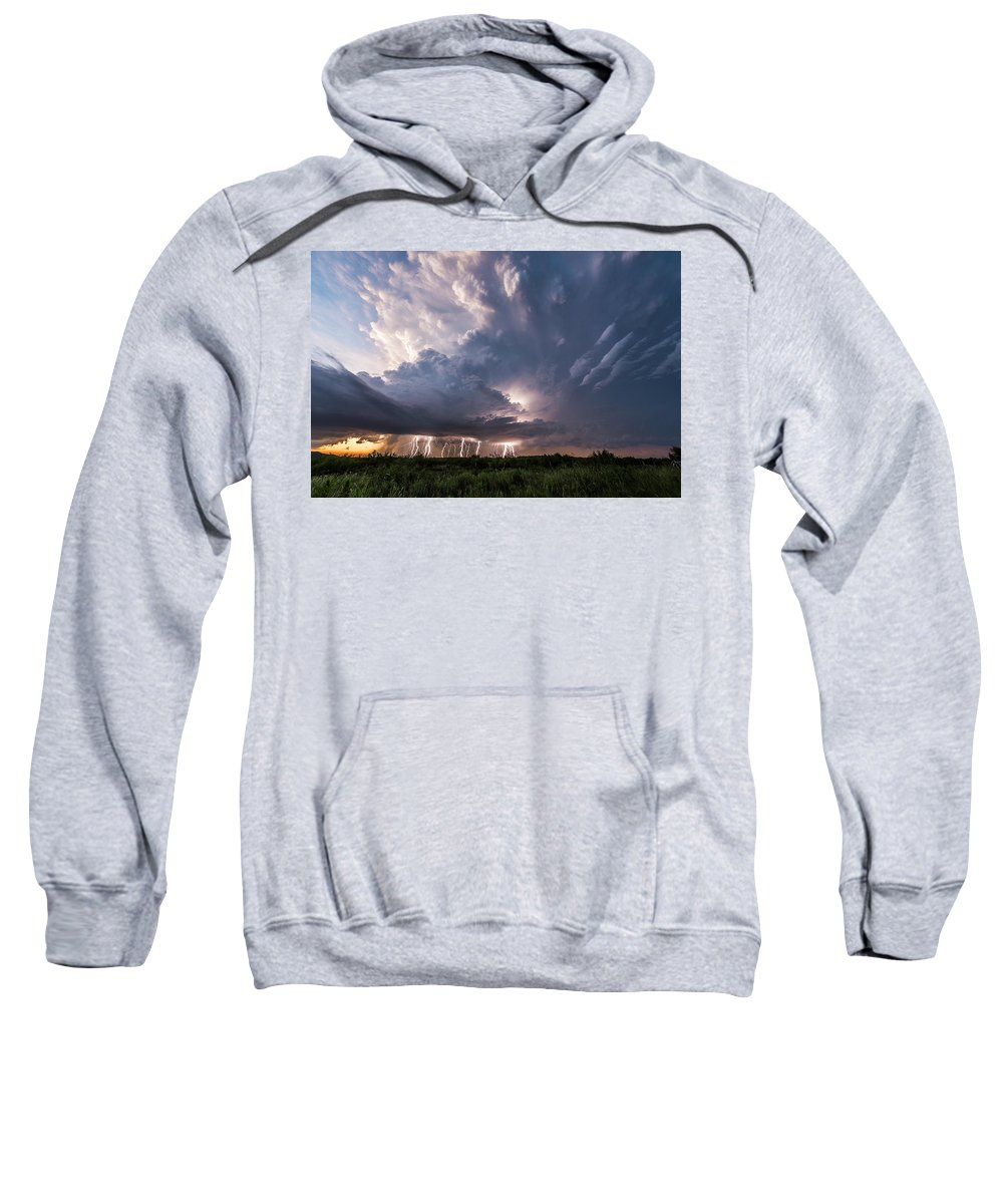 Storm Sweatshirt featuring the photograph Texas Twilight by Marcus Hustedde