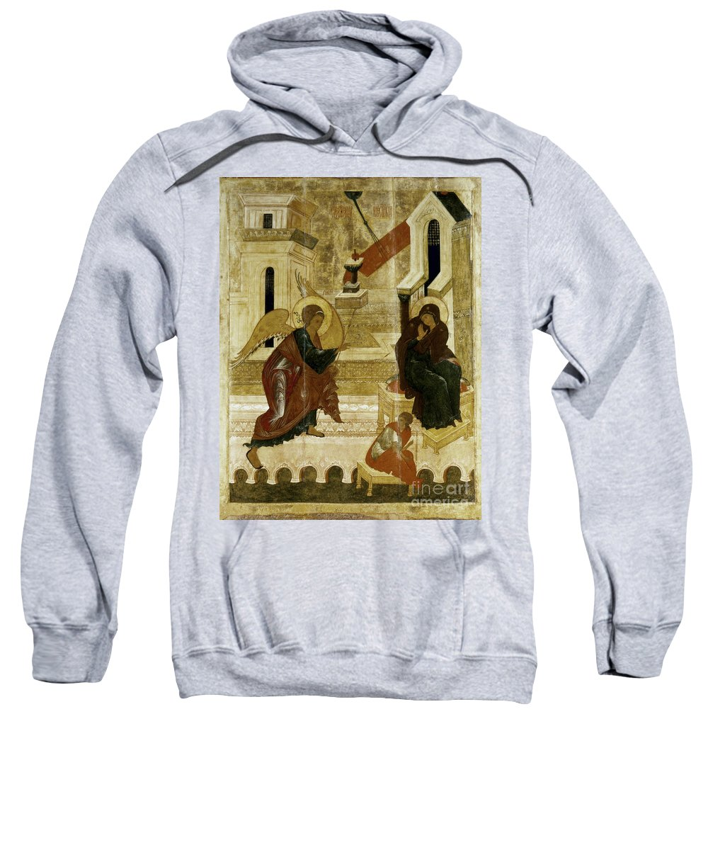 16th Century Sweatshirt featuring the photograph The Annunciation by Granger