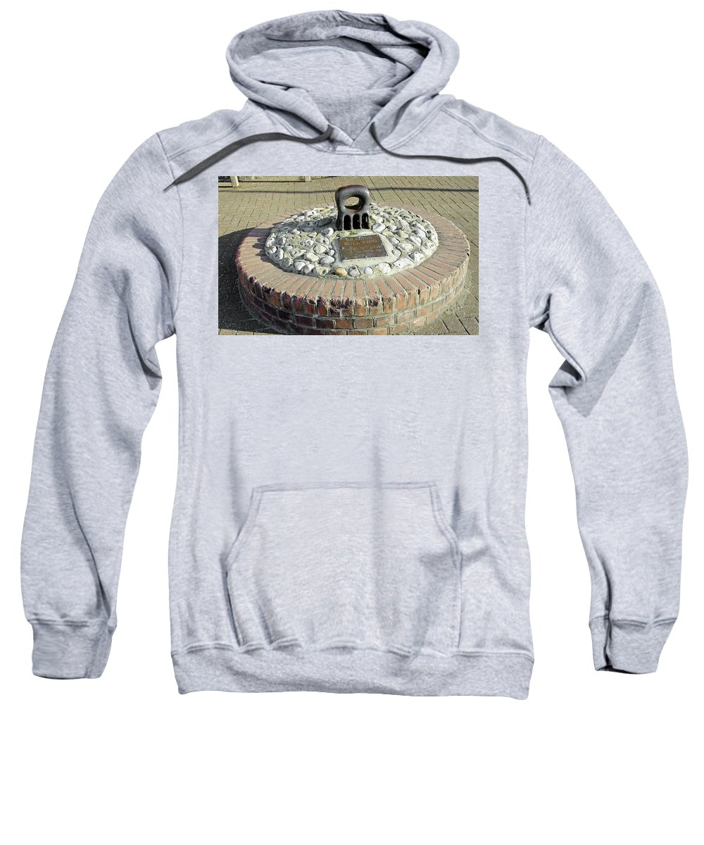 Isle Of Wight Sweatshirt featuring the photograph The Brading Bull Ring by Rod Johnson