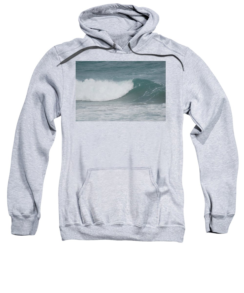 Water Sweatshirt featuring the photograph The Break by Rob Hans