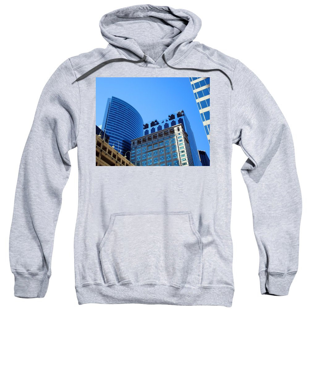 Chicago Sweatshirt featuring the photograph The Chicago Group by DB Artist