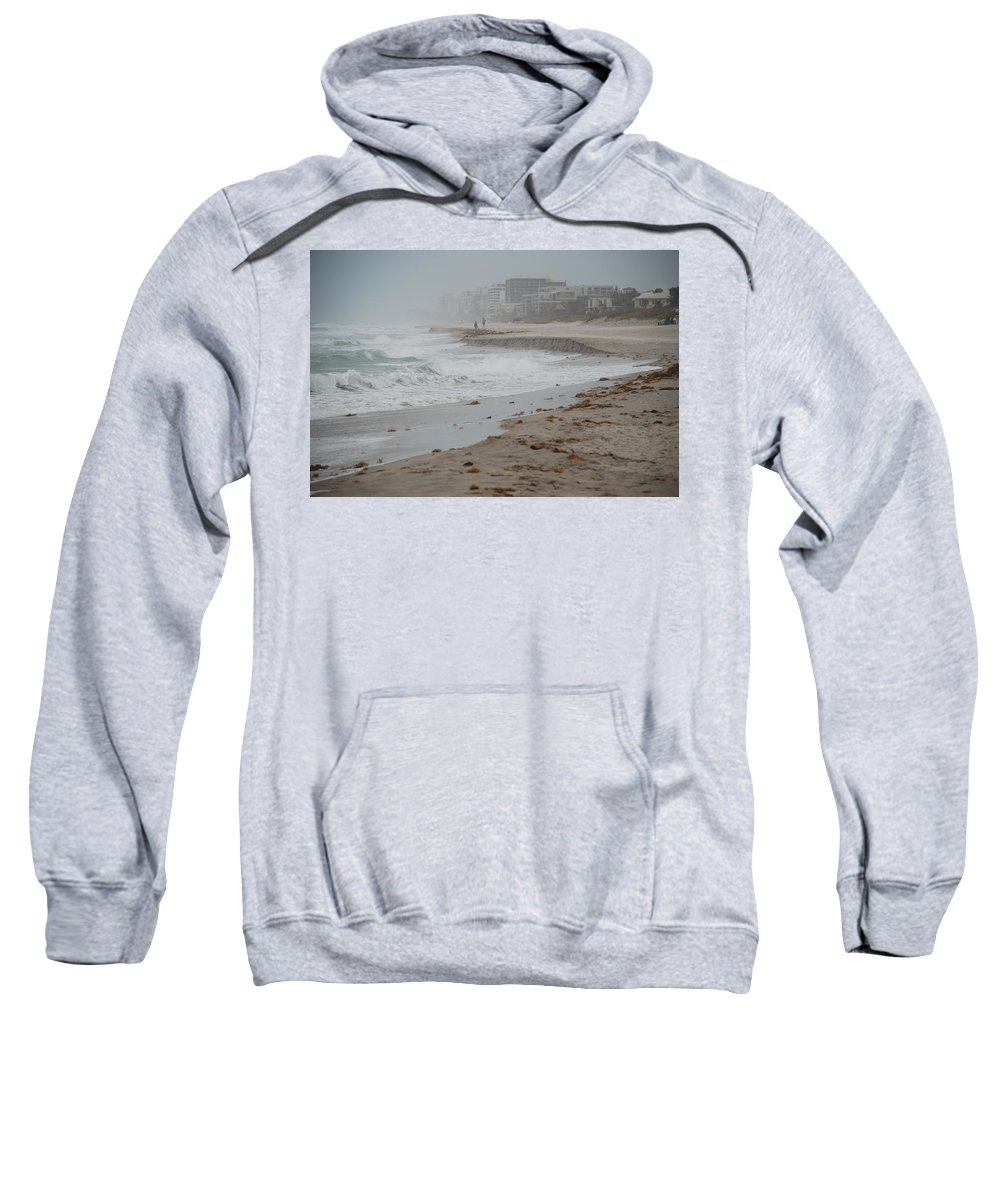 Water Sweatshirt featuring the photograph The Coast by Rob Hans