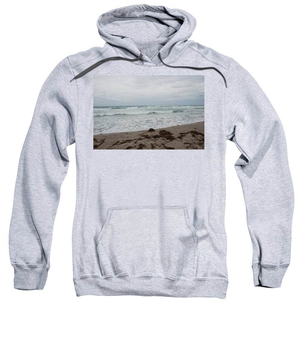 Water Sweatshirt featuring the photograph The Cold Sea by Rob Hans