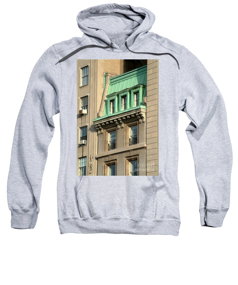 Apartments Sweatshirt featuring the photograph The Copper Attic by RC DeWinter