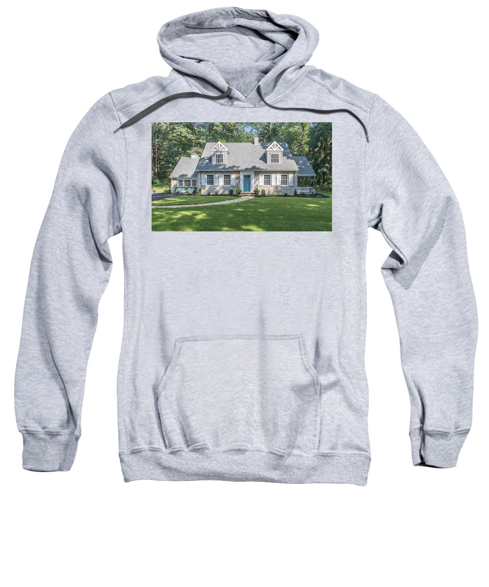Relax Sweatshirt featuring the photograph The Cottage by Joseph Toth