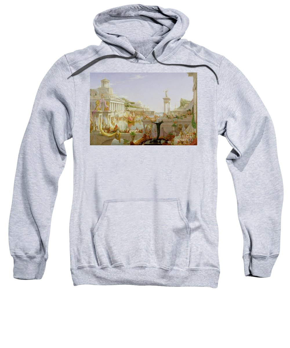Greek Temples Hooded Sweatshirts T-Shirts