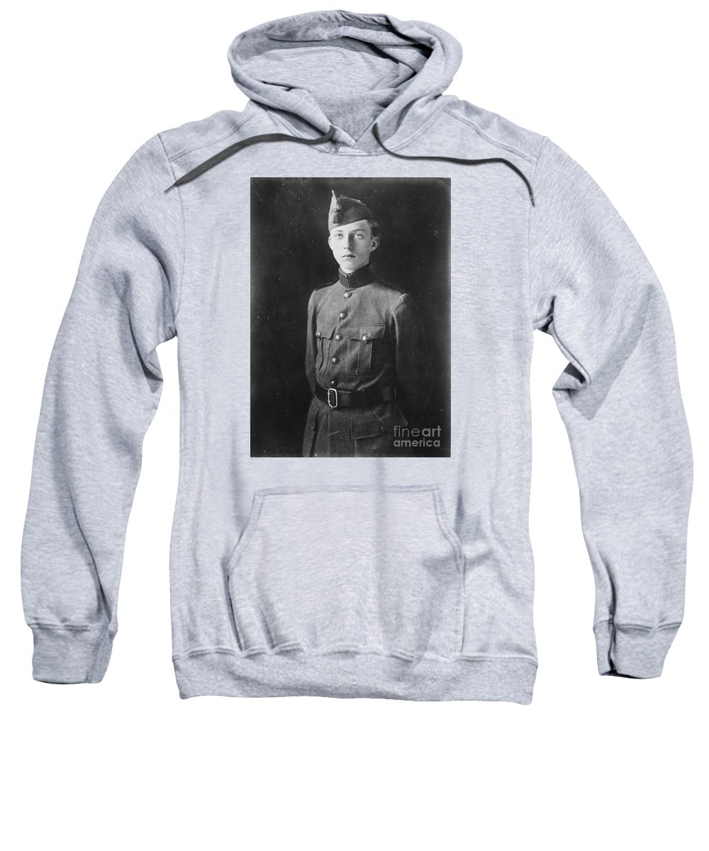 The Crown Prince L�opold Of The Belgians Prince L�opold Of Saxe-coburg And Gotha Sweatshirt featuring the painting The Crown Prince L Opold by MotionAge Designs