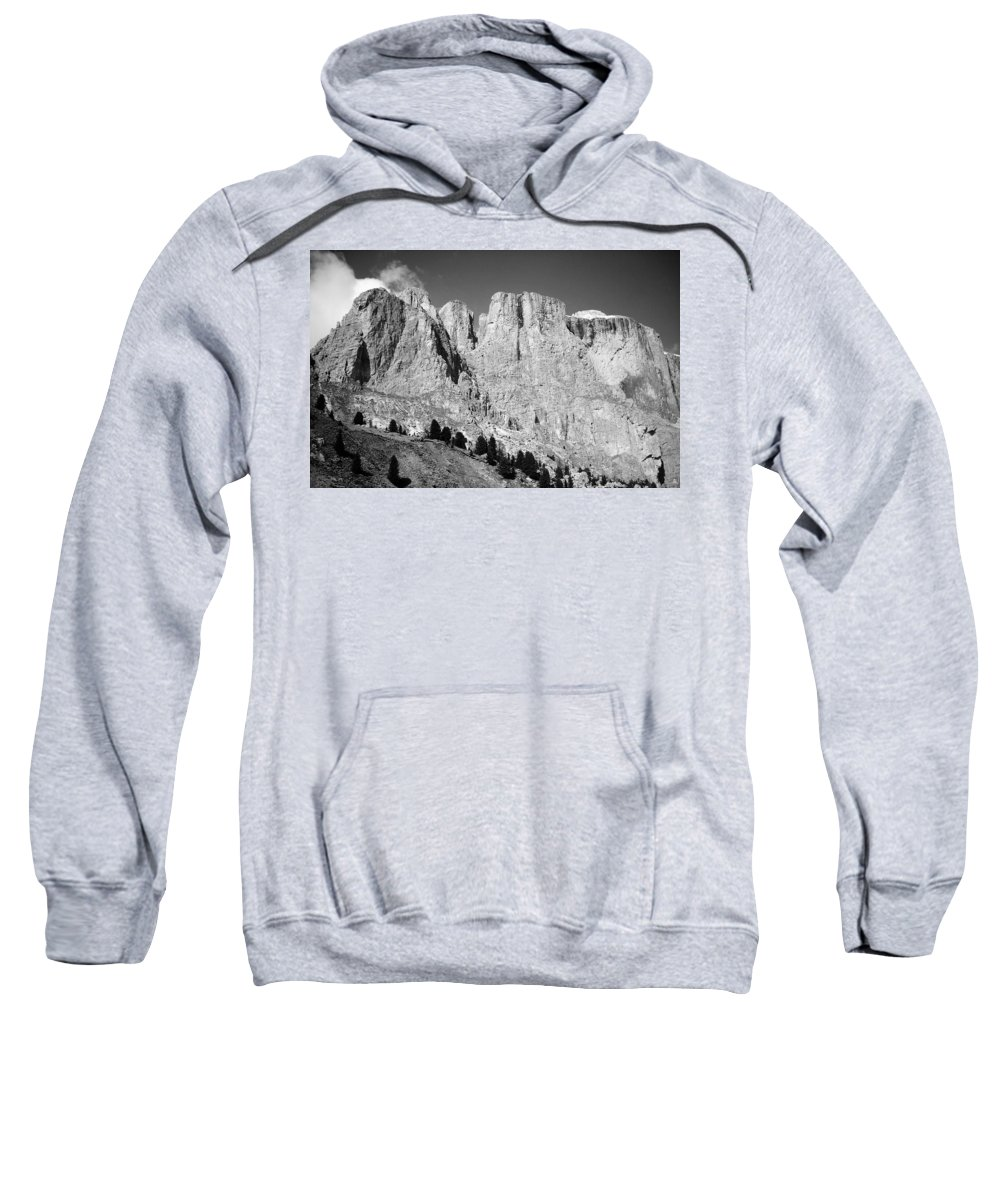 Europe Sweatshirt featuring the photograph The Dolomites by Juergen Weiss
