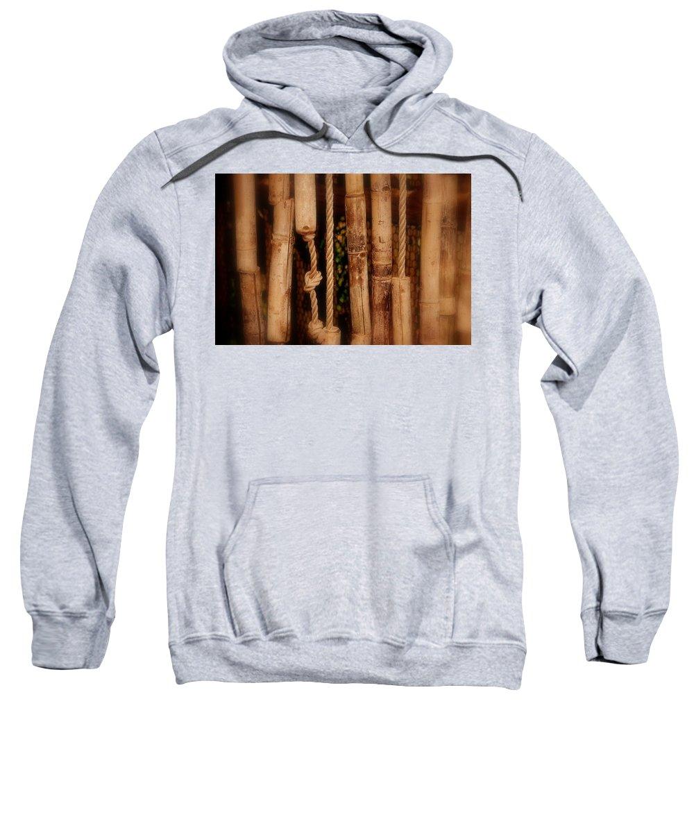 Door Sweatshirt featuring the photograph The Door Is Always Open by Susanne Van Hulst