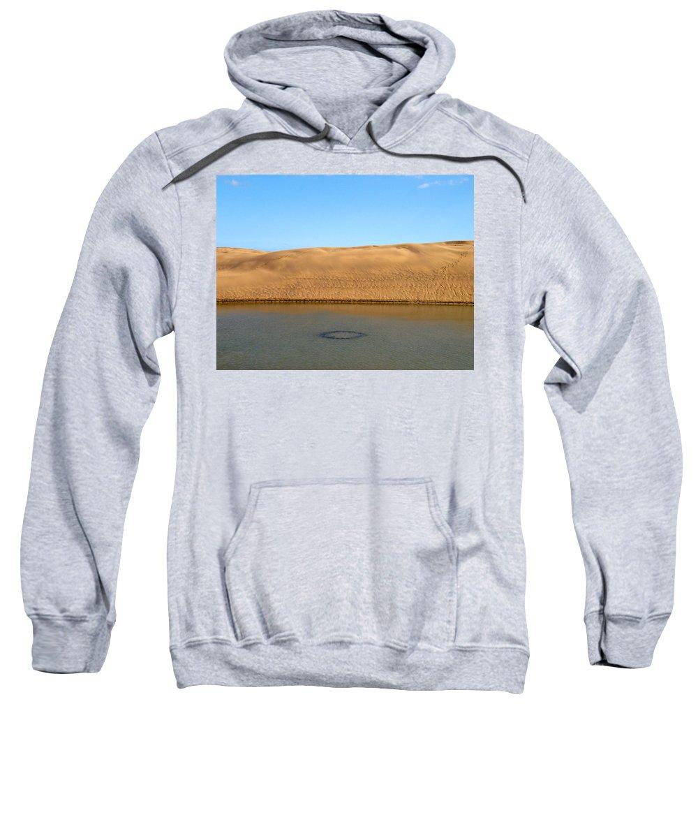 Lehtokukka Sweatshirt featuring the photograph The Dunes Of Maspalomas 3 by Jouko Lehto