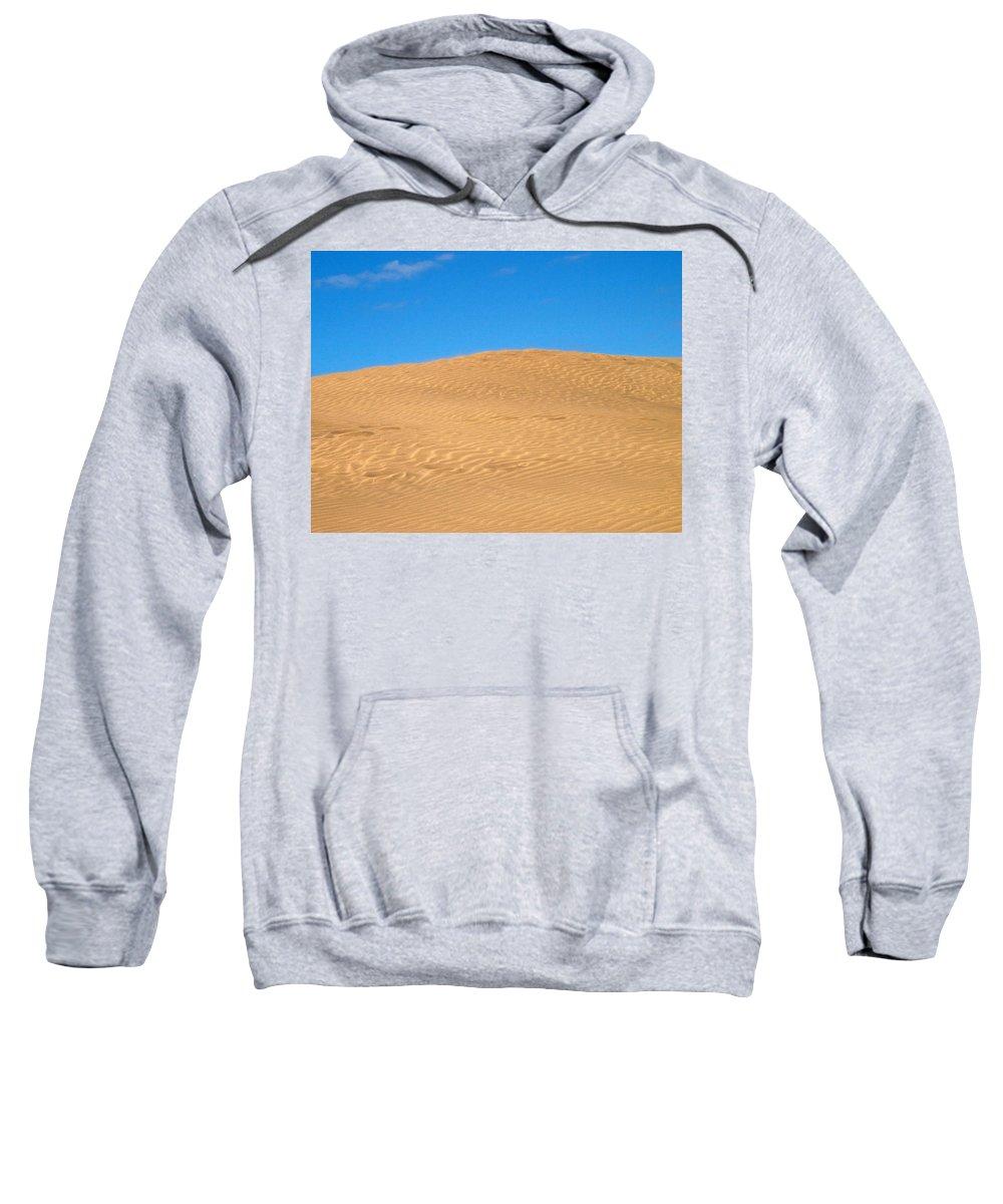 Lehtokukka Sweatshirt featuring the photograph The Dunes Of Maspalomas by Jouko Lehto