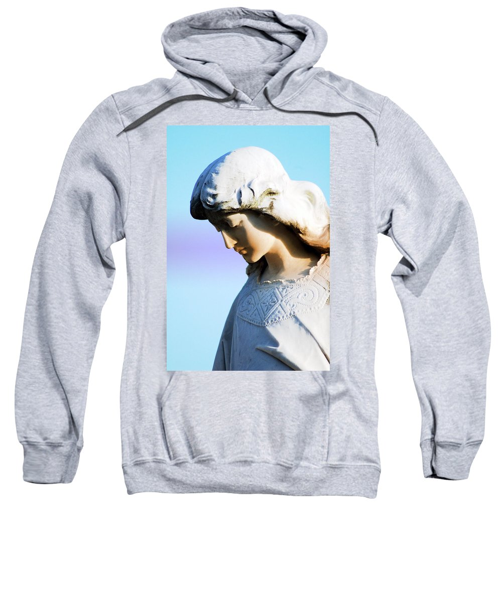 Angel Sweatshirt featuring the photograph The Face Of An Angel by Susanne Van Hulst