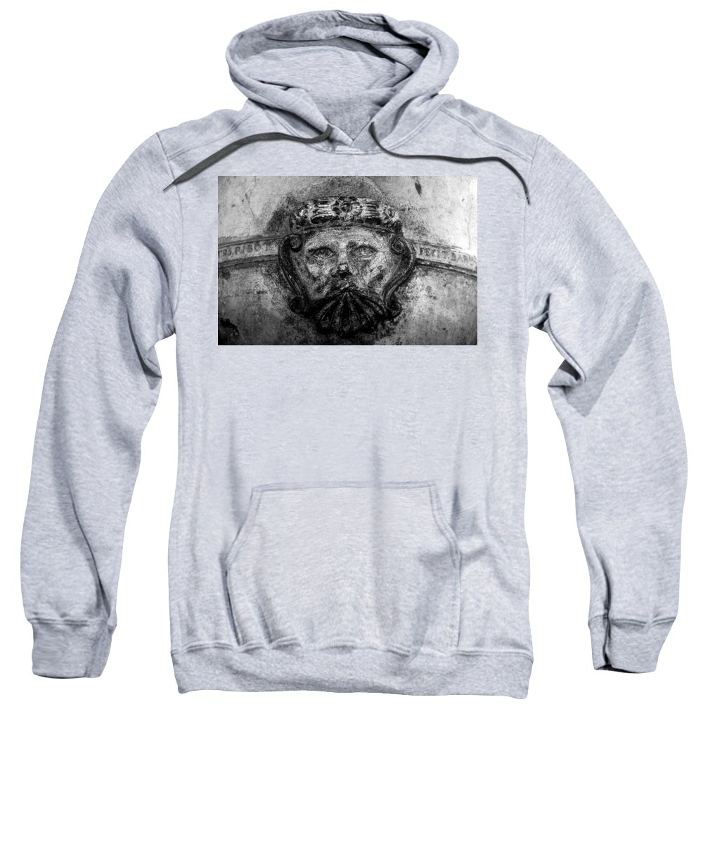Face Sweatshirt featuring the photograph The Face Of War by David Lee Thompson