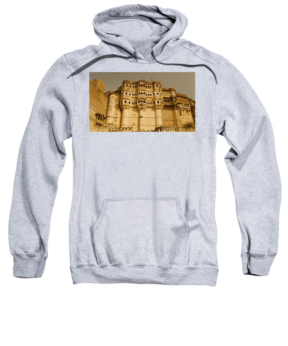 The Fall Sweatshirt featuring the digital art The Fall by Bert Mailer