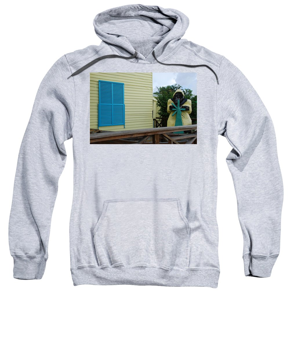 Architecture Sweatshirt featuring the photograph The Gordons Fisherman by Rob Hans