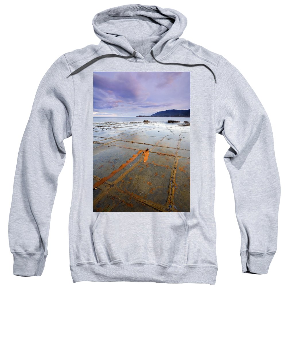 Tesselated Pavement Sweatshirt featuring the photograph The Grid by Mike Dawson