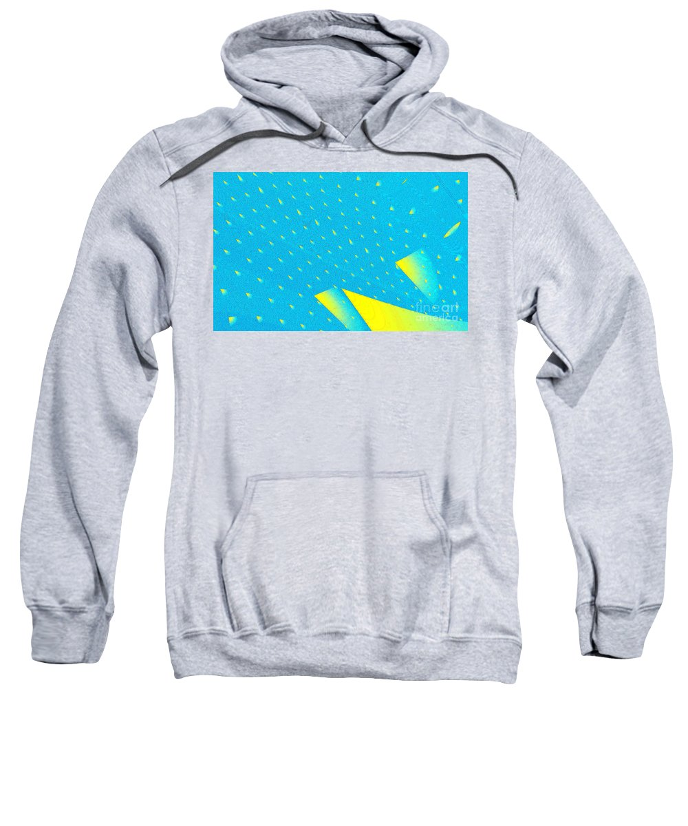 Clay Sweatshirt featuring the digital art The Illusion by Clayton Bruster