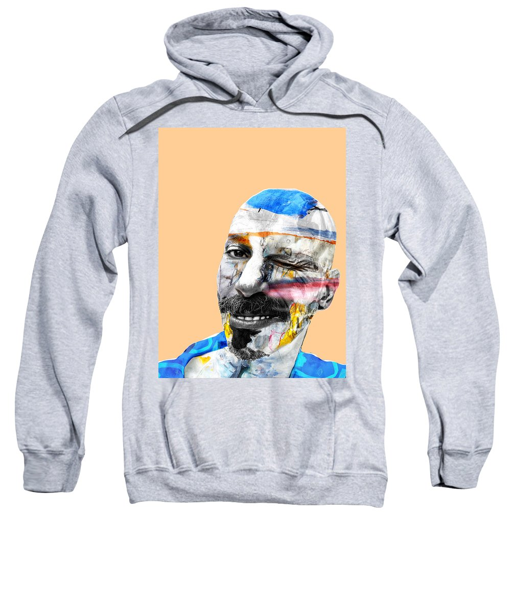 Jester Sweatshirt featuring the photograph The Jester by Dominic Piperata