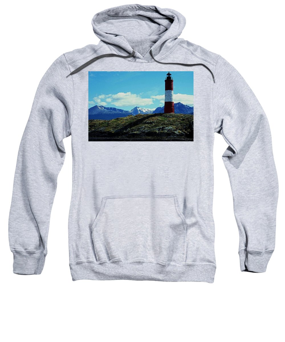 South Sweatshirt featuring the photograph The Last Lighthouse ... by Juergen Weiss