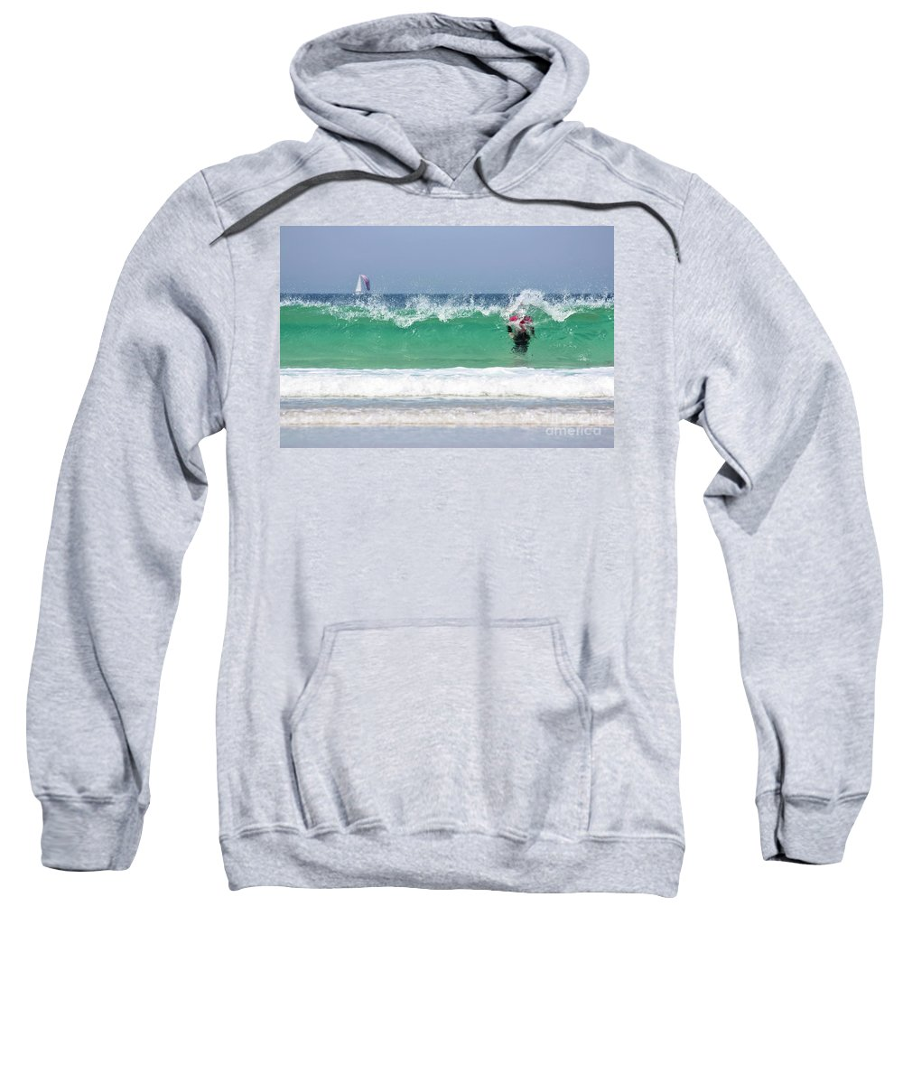 Cornwall Sweatshirt featuring the photograph The Little Mermaid by Terri Waters