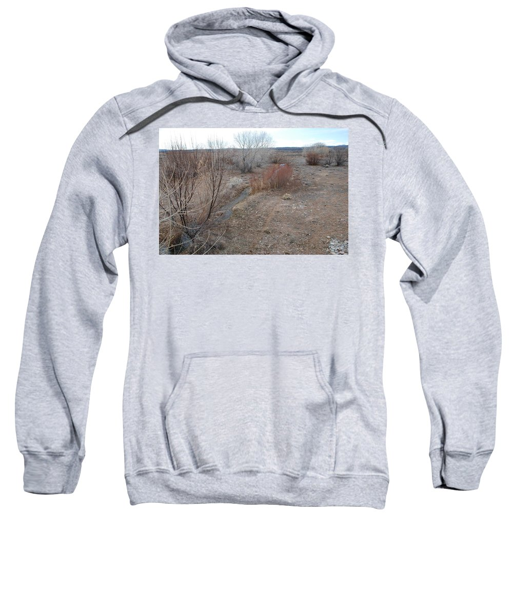 River Sweatshirt featuring the photograph The Mighty Santa Fe River by Rob Hans