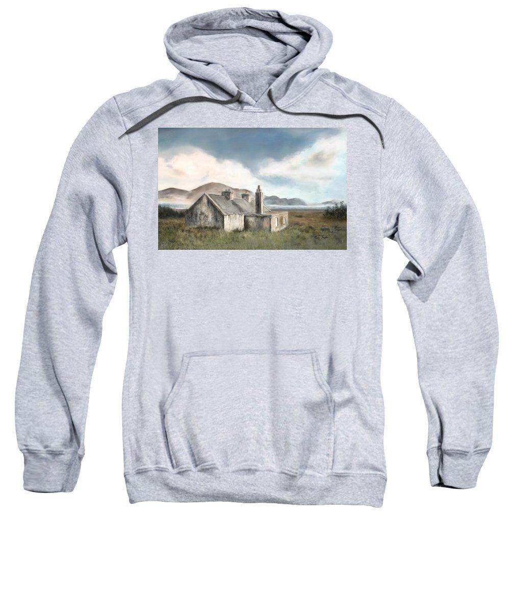 Moorland Mixed Media Hooded Sweatshirts T-Shirts