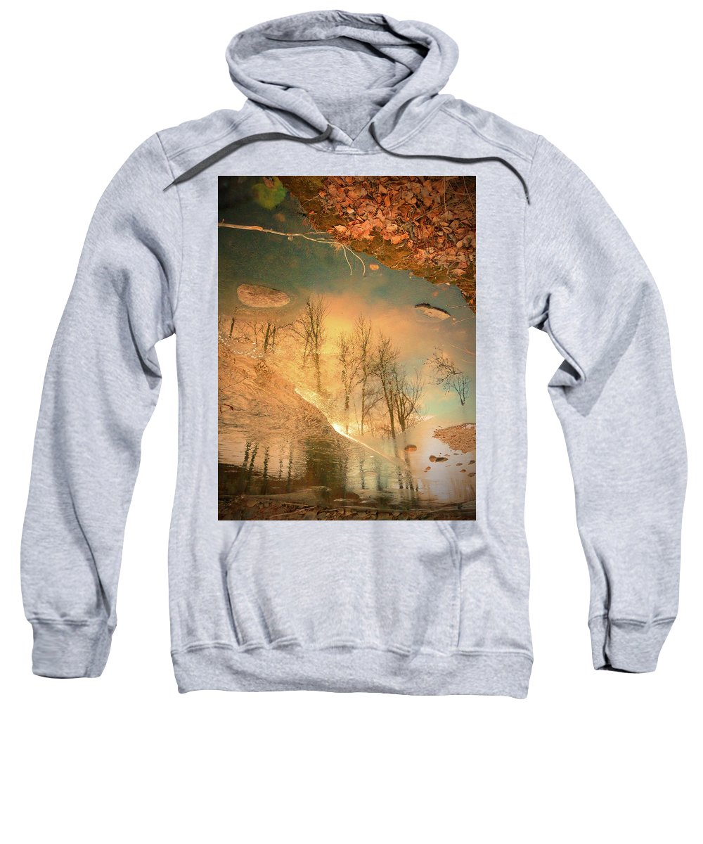 Ice Sweatshirt featuring the photograph The Movement Of Ice 2 by Tara Turner