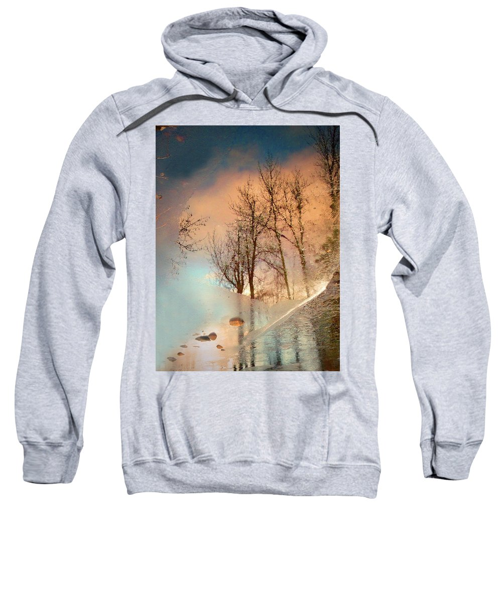 Ice Sweatshirt featuring the photograph The Movement Of Ice by Tara Turner
