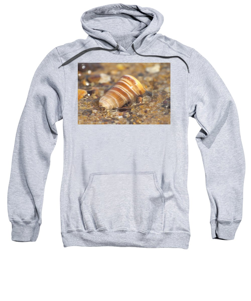Tide Sweatshirt featuring the photograph The Moving Tide by Douglas Barnard