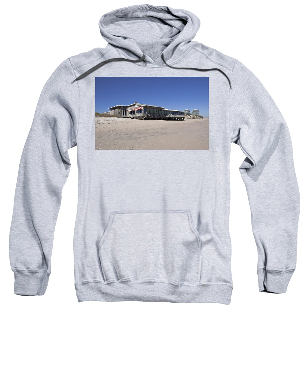 Florida Sweatshirt featuring the photograph The Ocean Grill At Vero Beach In Florida by Allan Hughes