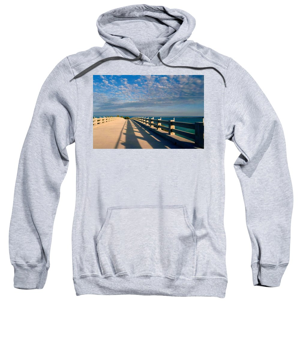 Bridges Sweatshirt featuring the photograph The Old Bridge by Susanne Van Hulst