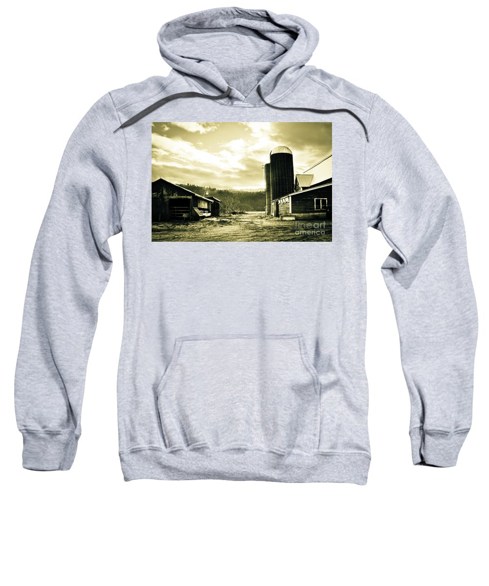 Art Sweatshirt featuring the photograph The Old Farm by Clayton Bruster