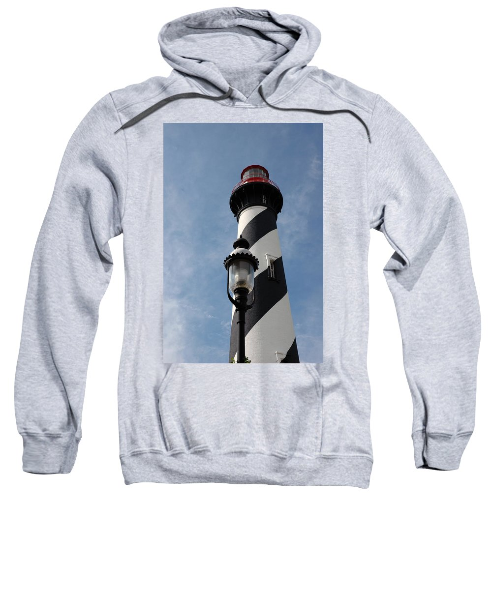 Lighthouse Sweatshirt featuring the photograph The Old Lantern And The Lighthouse by Susanne Van Hulst