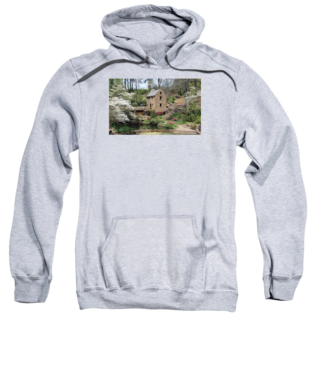 The Old Mill Sweatshirt featuring the photograph The Old Mill by Kenneth Christenson