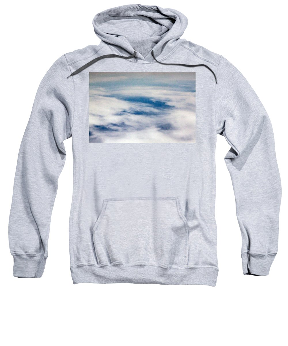 Heaven Sweatshirt featuring the photograph The Other Heaven by Munir Alawi