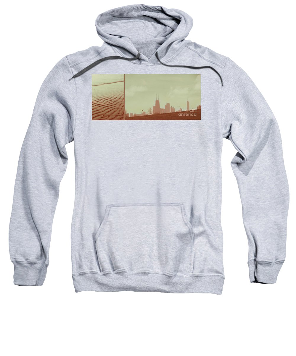 Beach Sweatshirt featuring the photograph The Other Side Of Fate by Dana DiPasquale