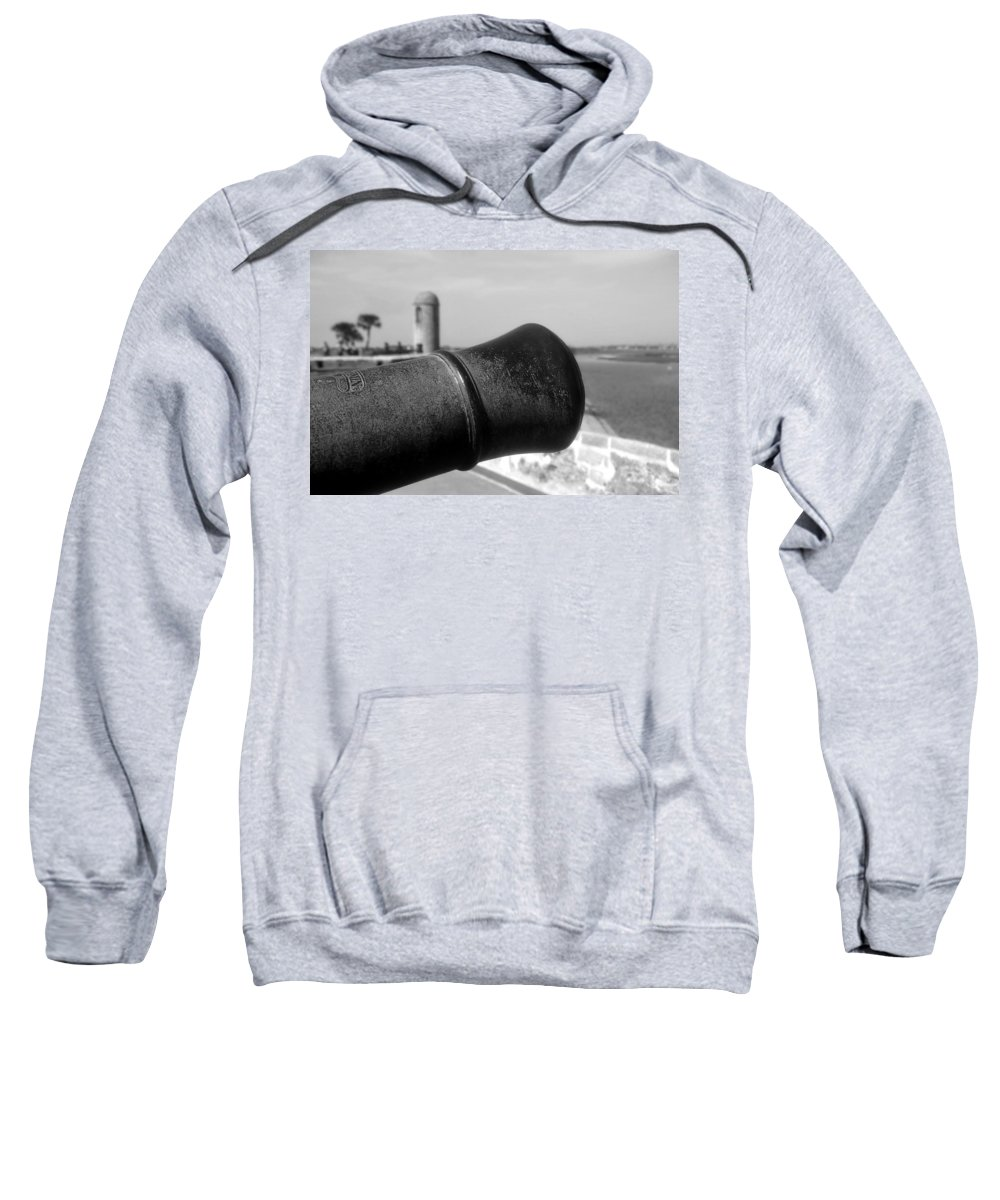 Castillo De San Marcos Sweatshirt featuring the photograph The Power Of Empire by David Lee Thompson