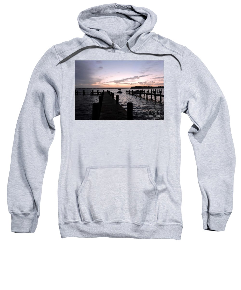 Sunrise Sweatshirt featuring the photograph The Present by Beth Williams