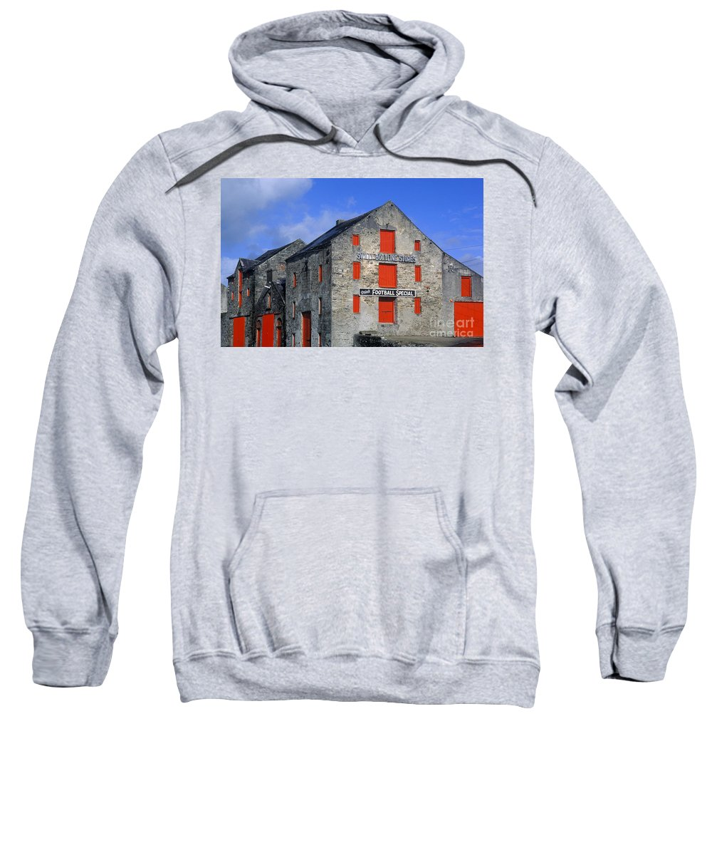 County Donegal Sweatshirt featuring the photograph The Quays by John Greim