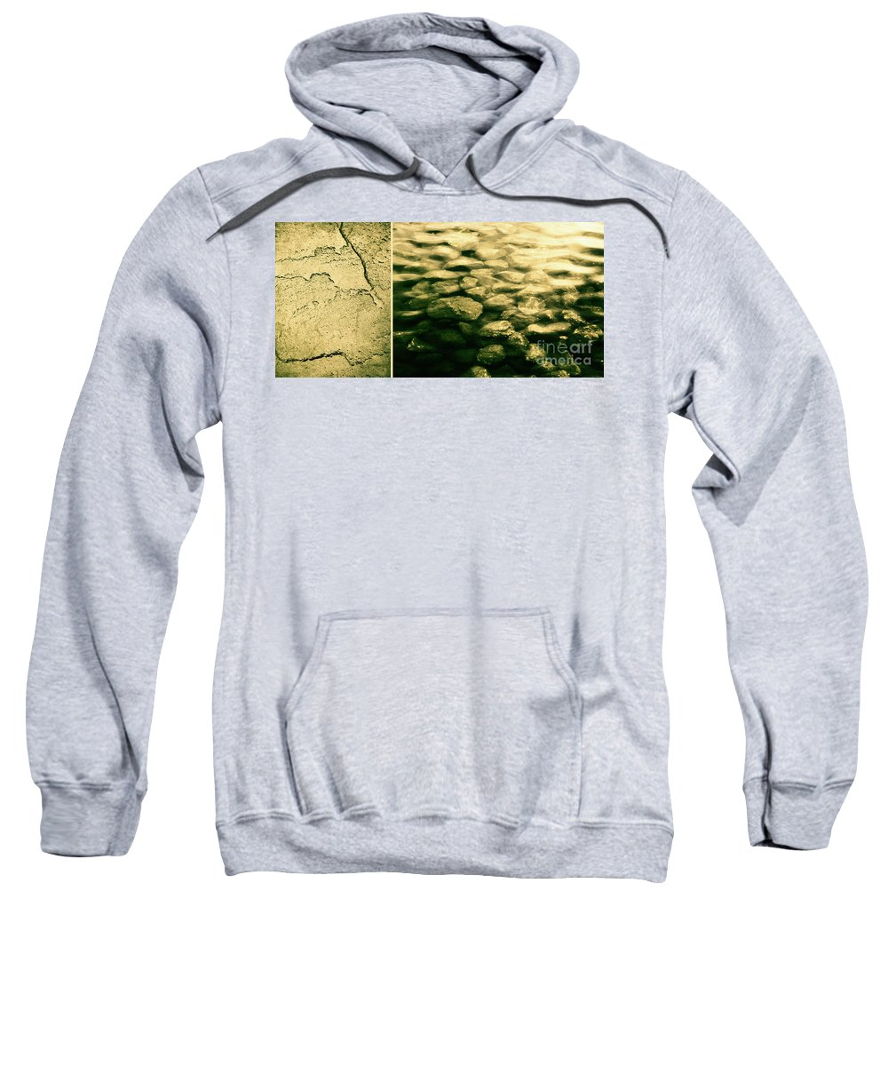 Rocks Sweatshirt featuring the photograph The Quiet Underneath by Dana DiPasquale