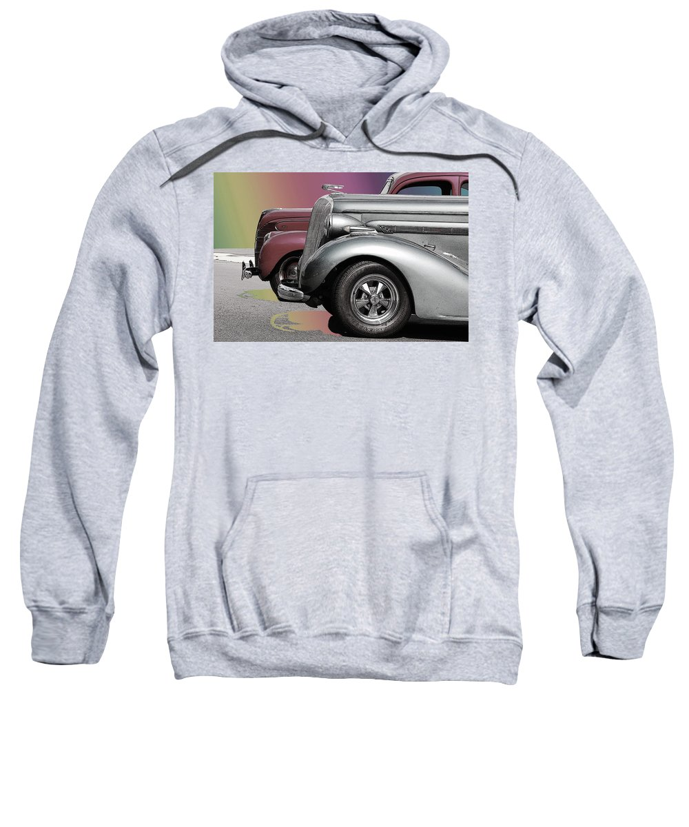The Race Sweatshirt featuring the photograph The Race by Robert Meanor