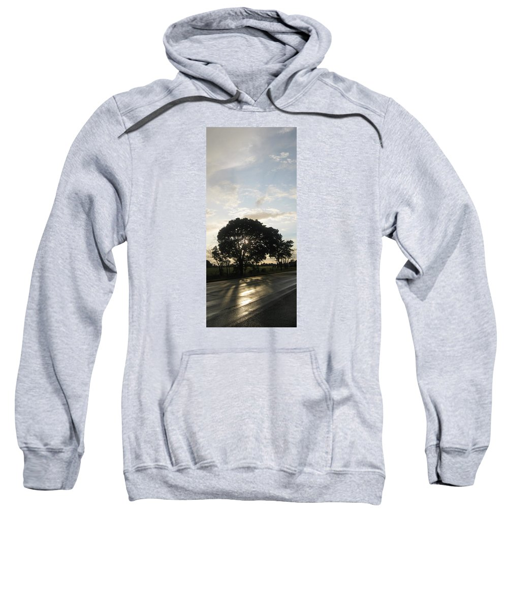 Landscape Sweatshirt featuring the photograph The Storm Has Passed by Patrick Murphy