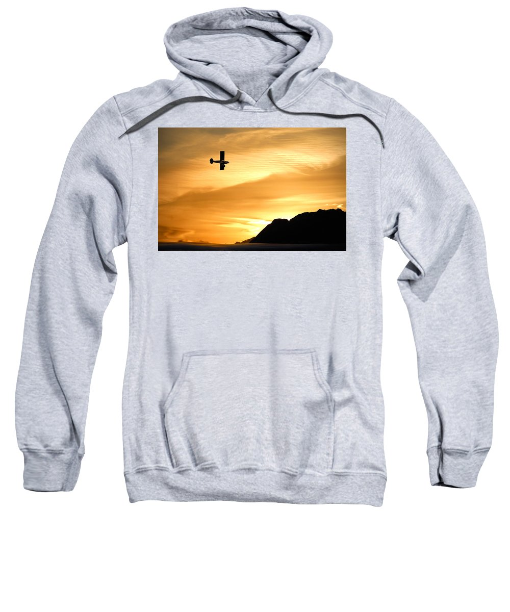 Airplane Sweatshirt featuring the photograph The Reason by Ron Day