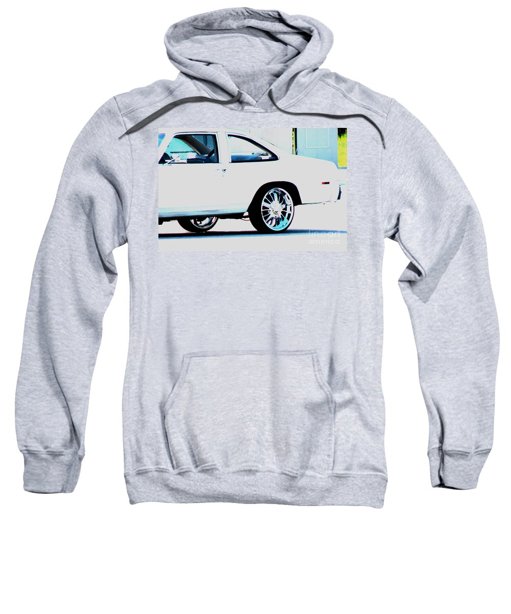 Car Sweatshirt featuring the photograph The Ride by Amanda Barcon