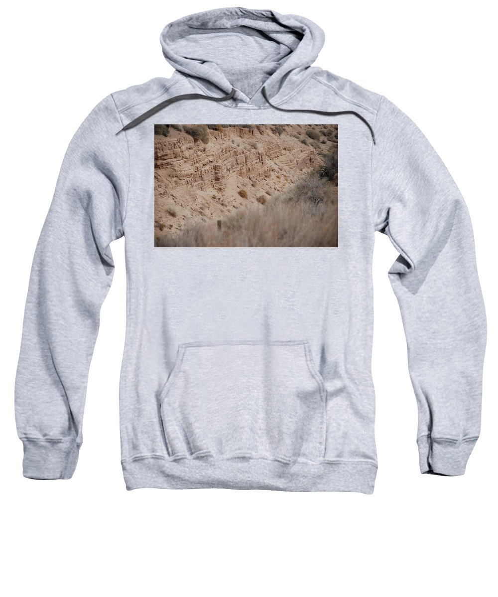 Desert Sweatshirt featuring the photograph The Rocks by Rob Hans