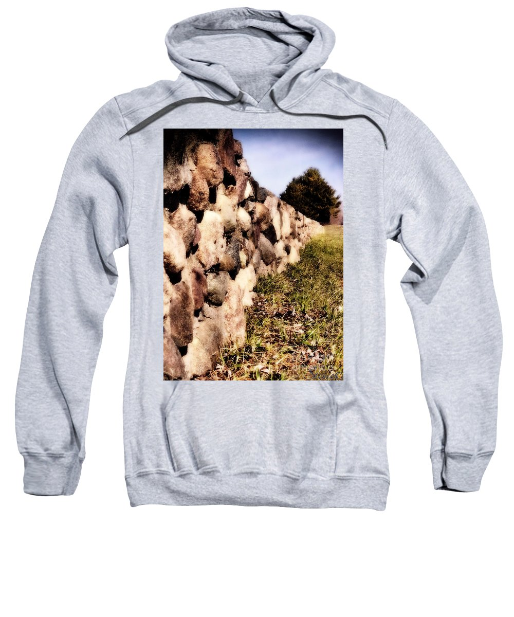 Stone Sweatshirt featuring the photograph The Secret Keeper by September Stone